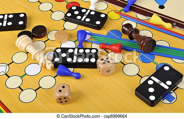 jeux, planche - csp8999664