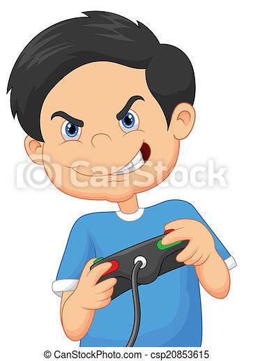 Jeux Video Enfant Jeux Dessin Anime Jeux Video Illustration Jeu Enfant Vecteur Jeux Dessin Anime Console Canstock