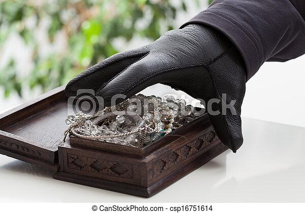 Jewelery box - csp16751614