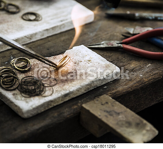 jewelery, fabbricazione - csp18011295