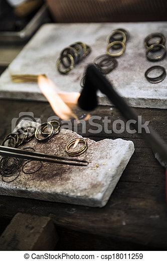 jewelery, fabbricazione - csp18011259