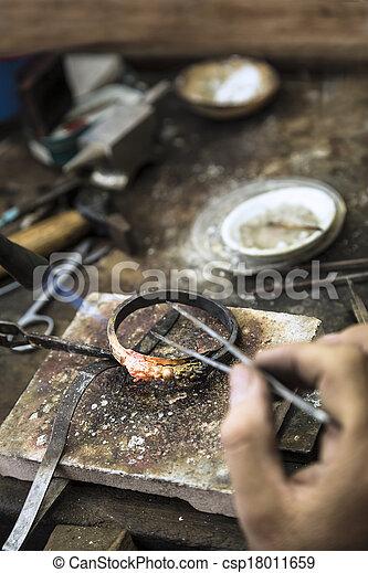 jewelery, fabbricazione - csp18011659