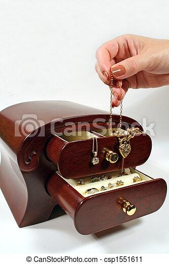 Jewellery Box 1 - csp1551611