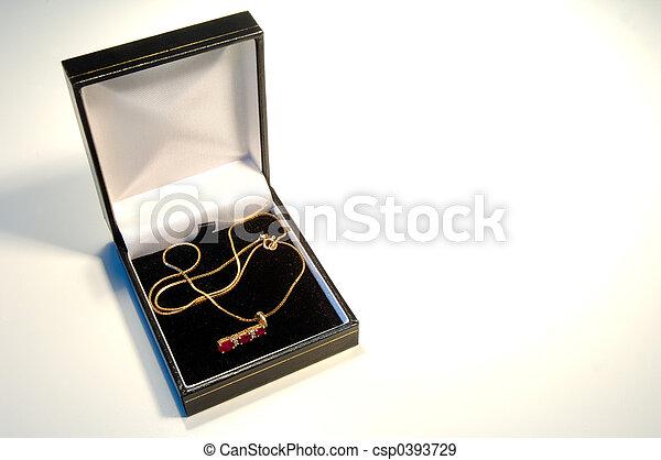 jewellery necklace - csp0393729