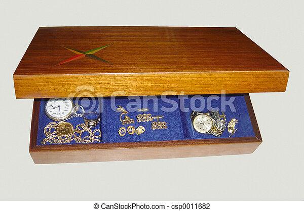 Jewelry Box - csp0011682