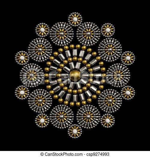 Jewelry decoration design - csp9274993