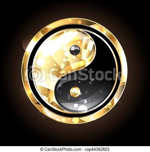 Jewelry Yin Yang Symbol Jewelry Gold And Black Yin Yang Symbol On