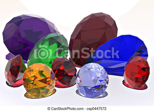 an assortment of brilliant colored jewels clip art search rh canstockphoto com clip art for jewel thief clip art for jewel thief