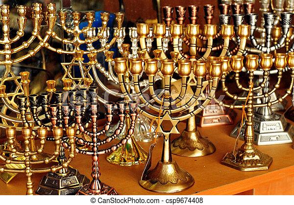 Jewish Holidays Hanukkah - csp9674408
