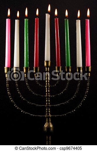 Jewish Holidays Hanukkah - csp9674405