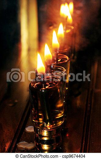 Jewish Holidays Hanukkah - csp9674404