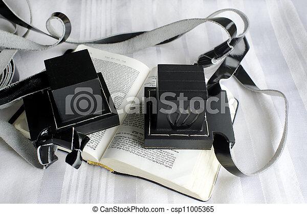 Jewish praying Items - csp11005365