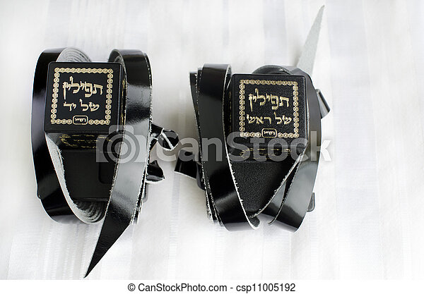 Jewish praying Items - csp11005192