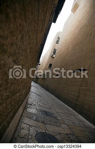 Jewish Quarter Alley - csp13324394