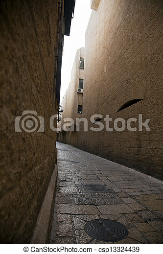 Jewish Quarter Alley - csp13324439