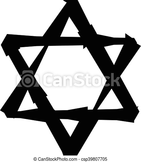 jewish star of david rh canstockphoto com star of david clip art images magen david clipart