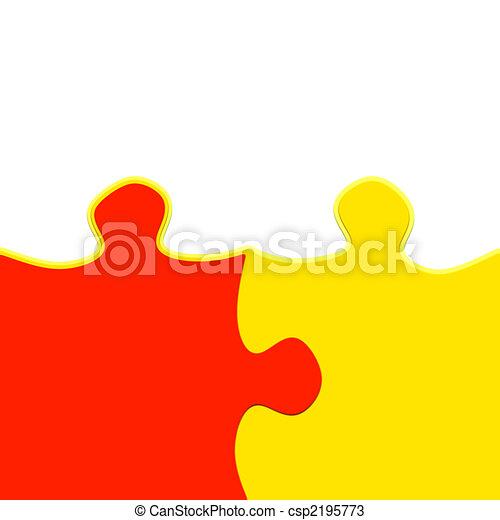 jigsaw friendship - csp2195773