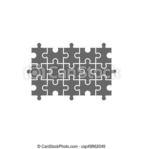 Jigsaw Puzzle Blank Template Jigsaw Maze Puzzle Vector Blank