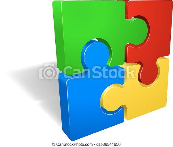 Jigsaw Puzzle - csp36544650