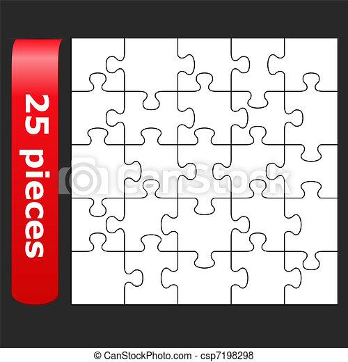 Jigsaw puzzle - csp7198298