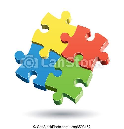 Jigsaw Puzzle - csp6503467