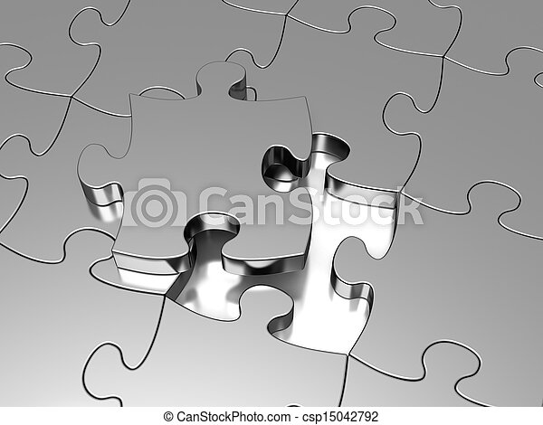 Jigsaw puzzle - csp15042792