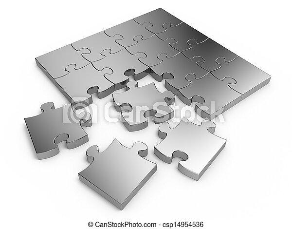 Jigsaw puzzle - csp14954536