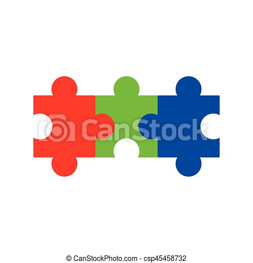 Jigsaw Puzzle Vector Icon All Possible Shapes Of Pieces