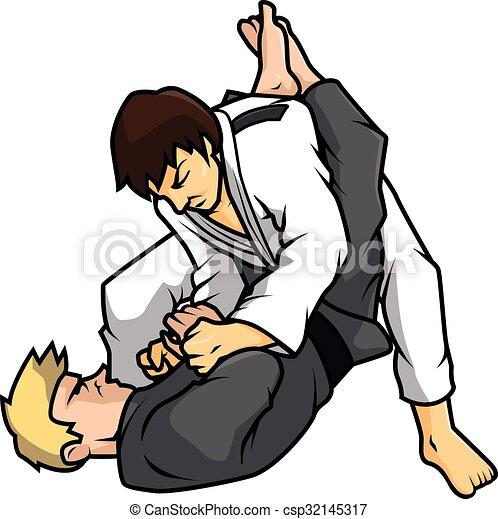 jiu jitsu training vector illustration design rh canstockphoto com free jiu jitsu clipart Jiu Jitsu Quotes
