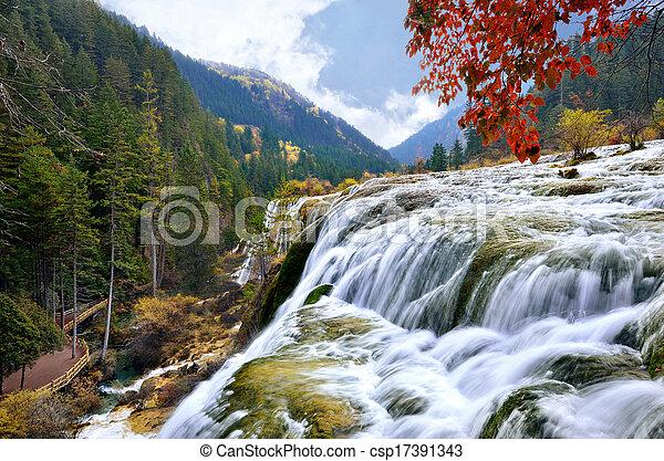 Jiuzhaigou National Park - csp17391343