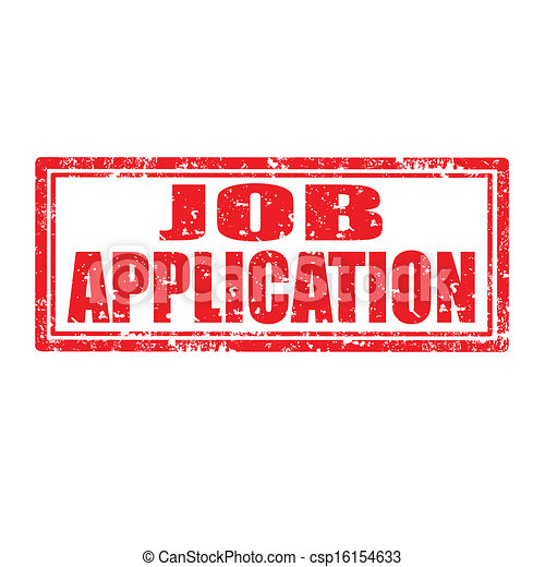 job application stamp csp16154633