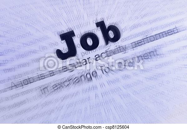 Job conception text - csp8125604