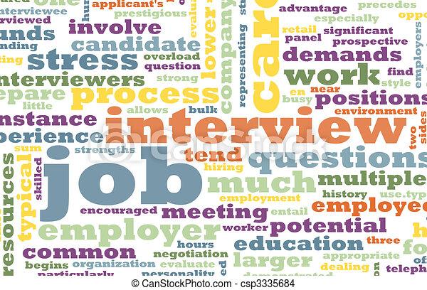 Job Interview - csp3335684