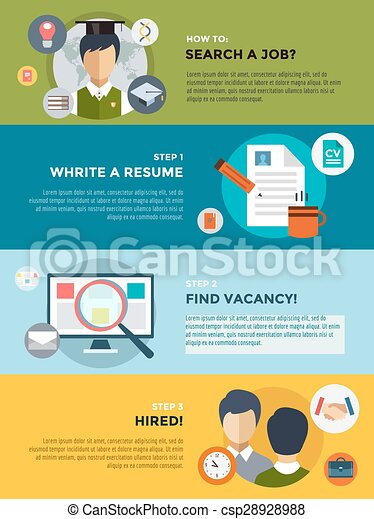 Infographic job search