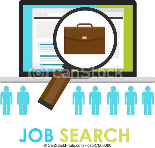 Online Job Search >> Job Search Bag Loop Online Web Employment Career