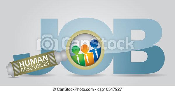 Jobsuche - csp10547927