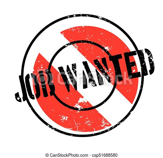 job wanted rubber stamp grunge design with dust scratches rh canstockphoto co uk wanted poster clipart free