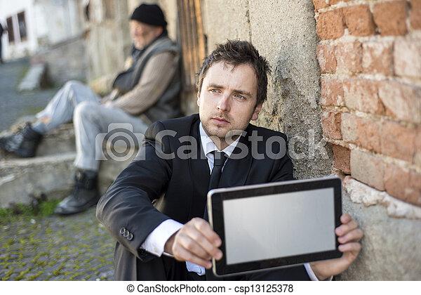 Jobless - csp13125378