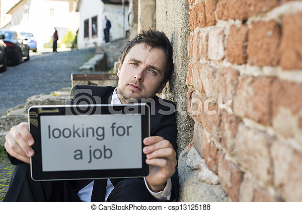 Jobless - csp13125188