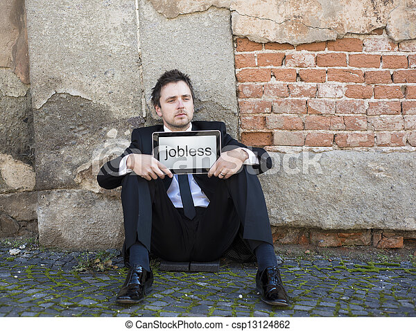 Jobless - csp13124862