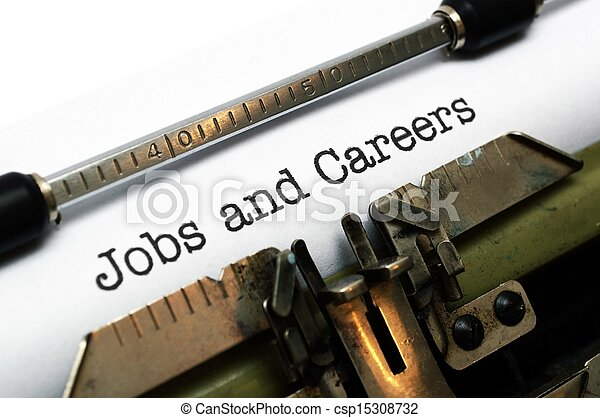 Jobs and careers - csp15308732
