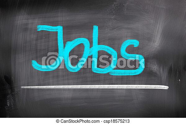 Jobs Concept - csp18575213