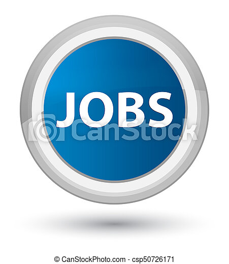Jobs prime blue round button - csp50726171