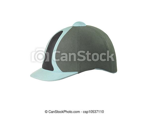 Jockey hat isolated on white - csp10537110