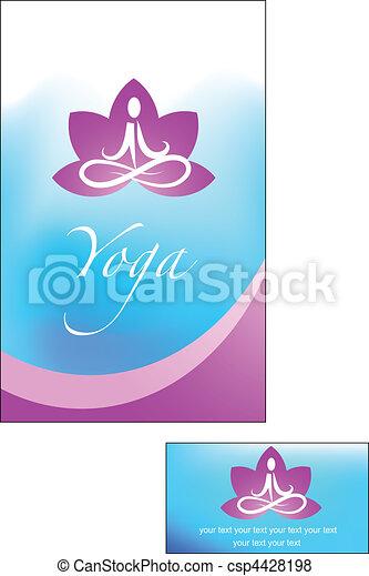 Yoga Hintergrund - csp4428198
