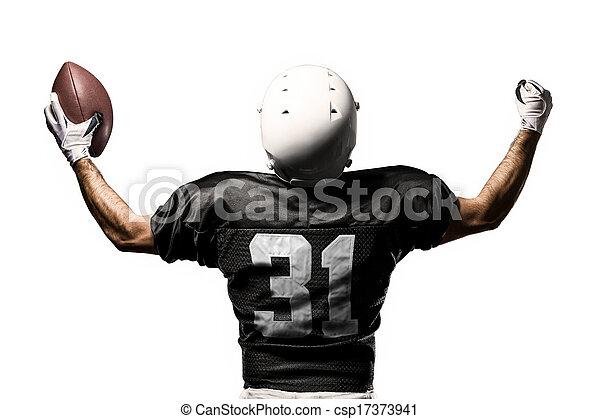 jogador, futebol - csp17373941