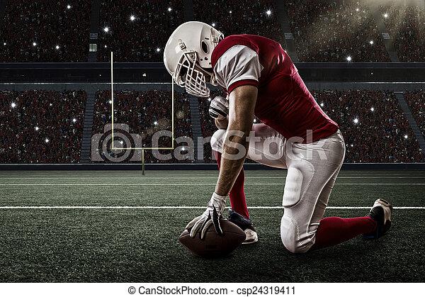 jogador, futebol - csp24319411