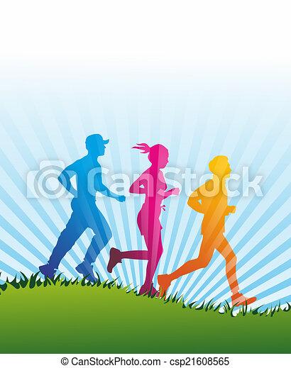jogger - csp21608565