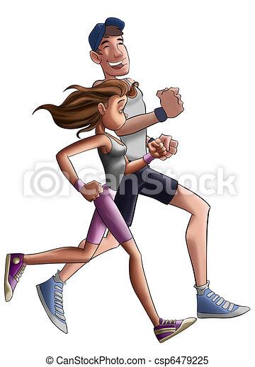 jogger - csp6479225