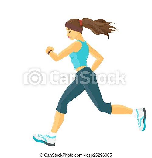 Jogging - csp25296065